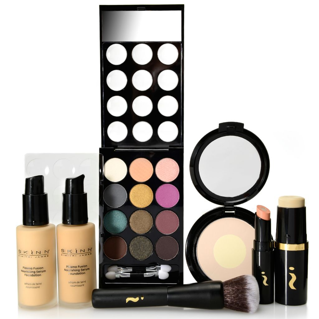 307-902 - Skinn Cosmetics Seven-Piece Treatment-Infused Plasma Fusion & Color Collection