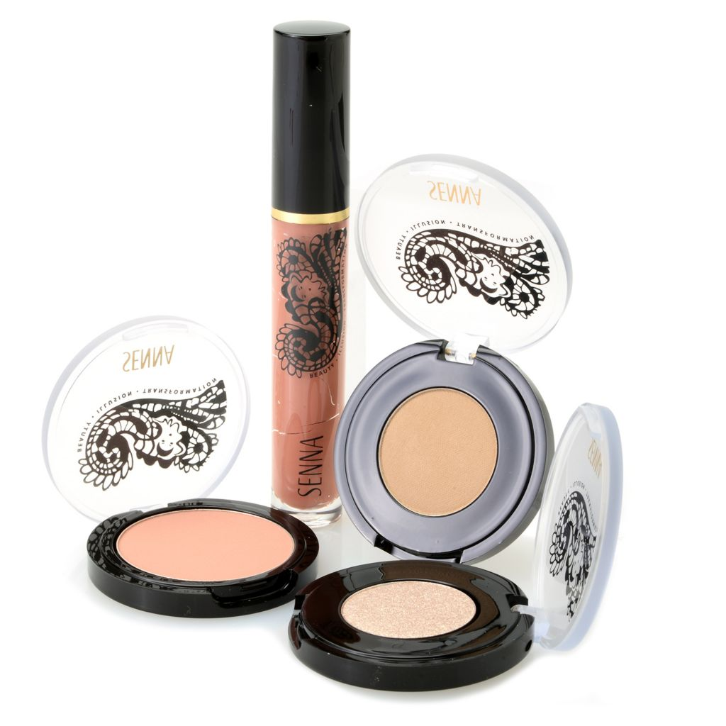 307-963 - SENNA Four-Piece Nude Color Collection for Eyes, Lips & Face