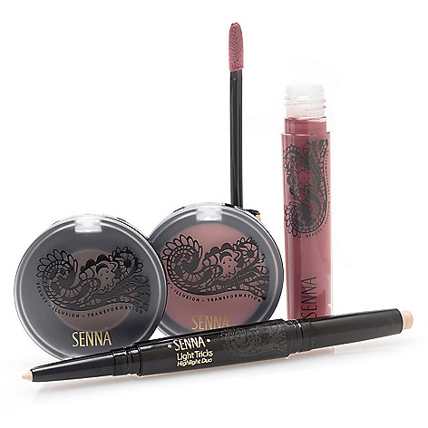307-965 - SENNA Four-Piece Color & Highlight Discovery Collection for Eyes, Lips & Face