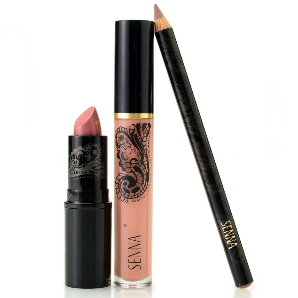 307-970 - SENNA Three-Piece Pouty Nude Lip Color Collection