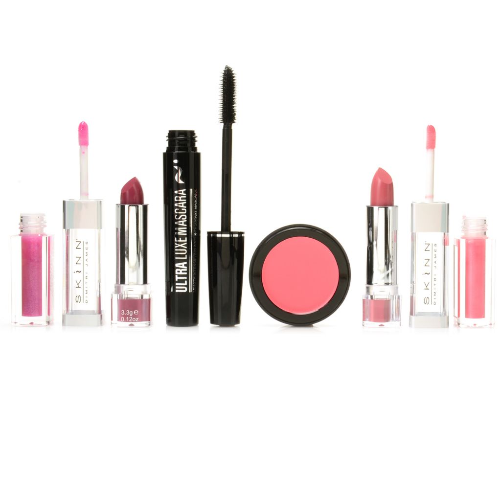 307-977 - Skinn Cosmetics Four-Piece Lip, Cheek & Eye Finishing Color Essentials Set