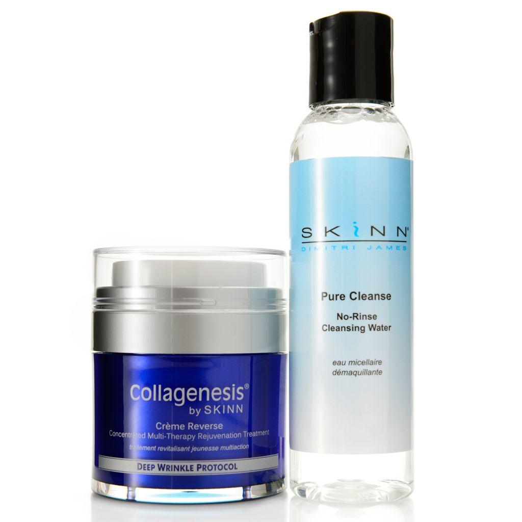 307-982 - Skinn Cosmetics Creme Reverse & Pure Cleanse Facial Restoring Duo