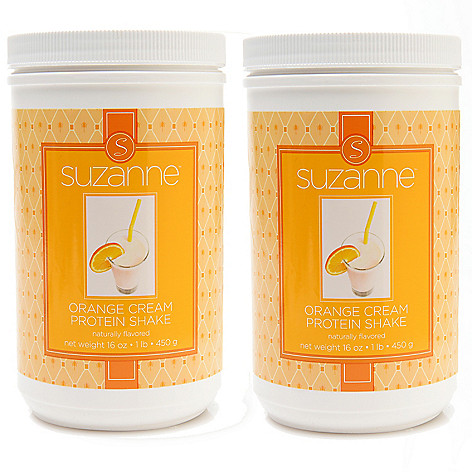 307-988 - Suzanne Somers Organics Protein Shake Mix Duo 16 oz Each