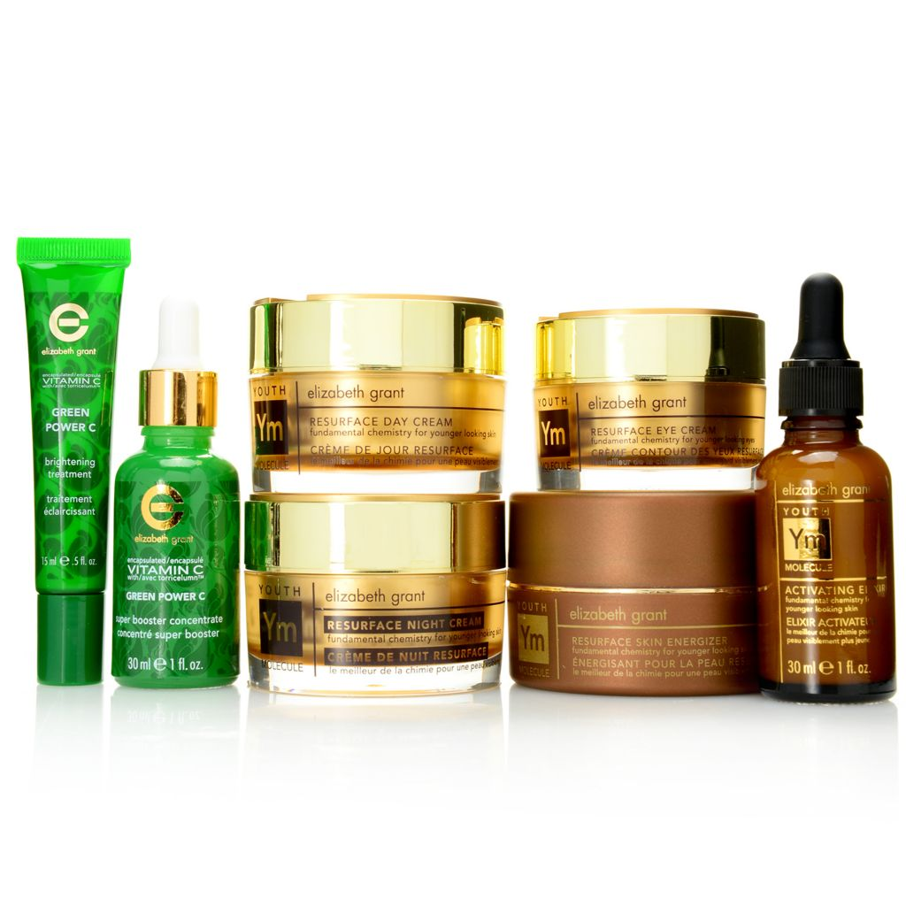 308-002 - Elizabeth Grant Seven-Piece Youth Molecule & Green Power C Age-Defying Essentials Set