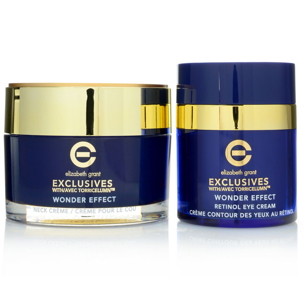 308-008 - Elizabeth Grant Exclusives Wonder Effect Retinol Eye & Neck Cream Duo