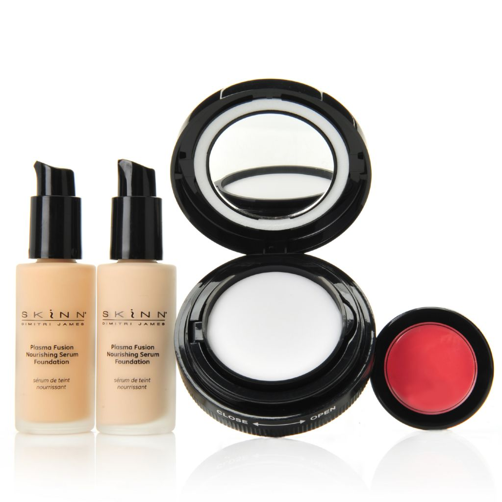 308-051 - Skinn Cosmetics Four-Piece Plasma Fusion Flawless Face Essentials Set