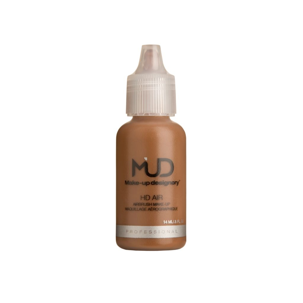 308-082 - MUD Dark Warm HD Air Liquid Makeup 0.5 oz