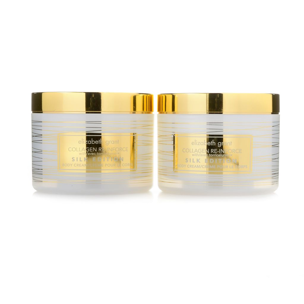 308-092 - Elizabeth Grant Collagen Re-Inforce Silk Edition Body Cream Duo