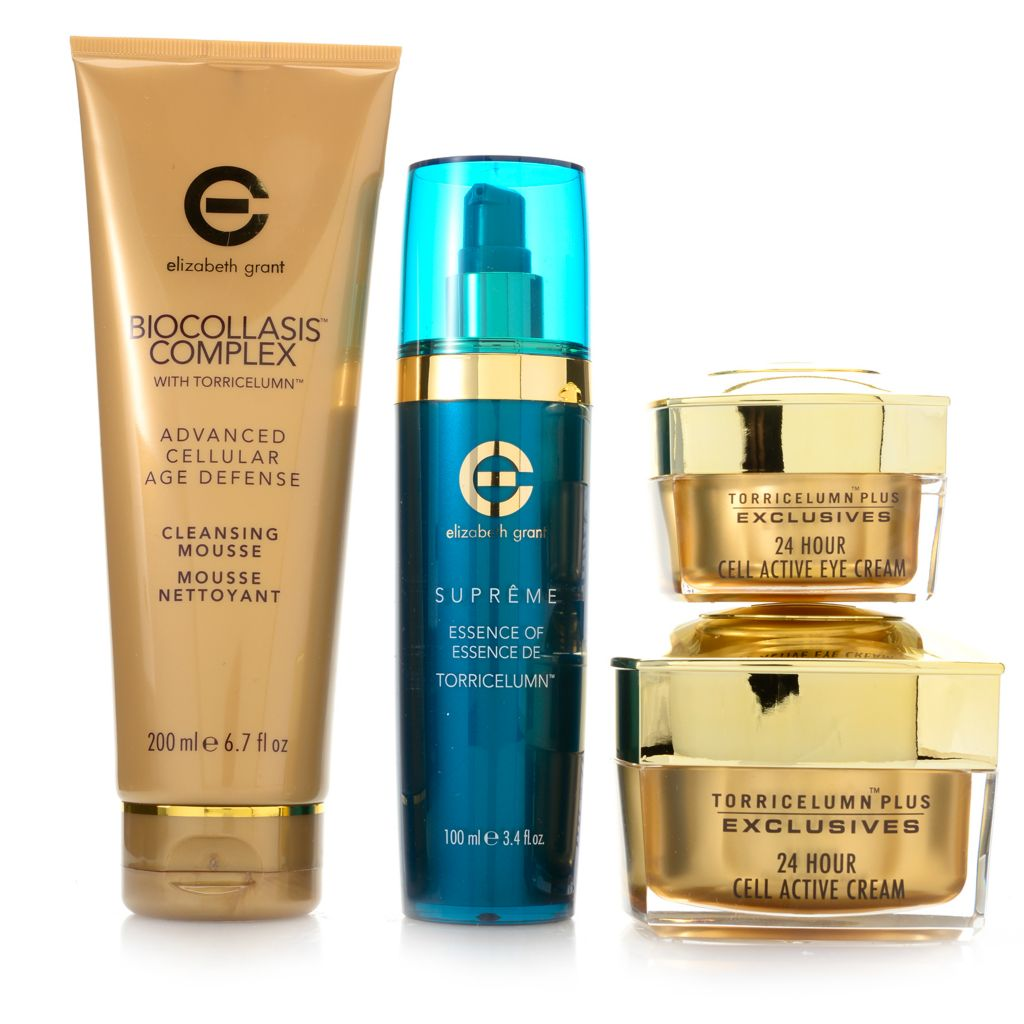 308-095 - Elizabeth Grant Four-Piece Cell Active 24-Hour Skincare Collection