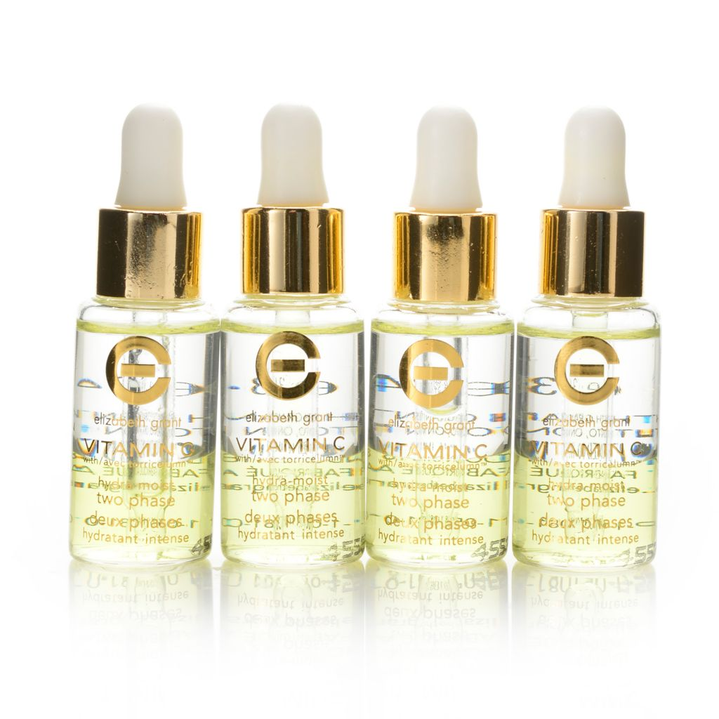 308-096 - Elizabeth Grant Four-Piece Vitamin C Hydra-Moist Two Phase Ampoules 0.34 oz Each