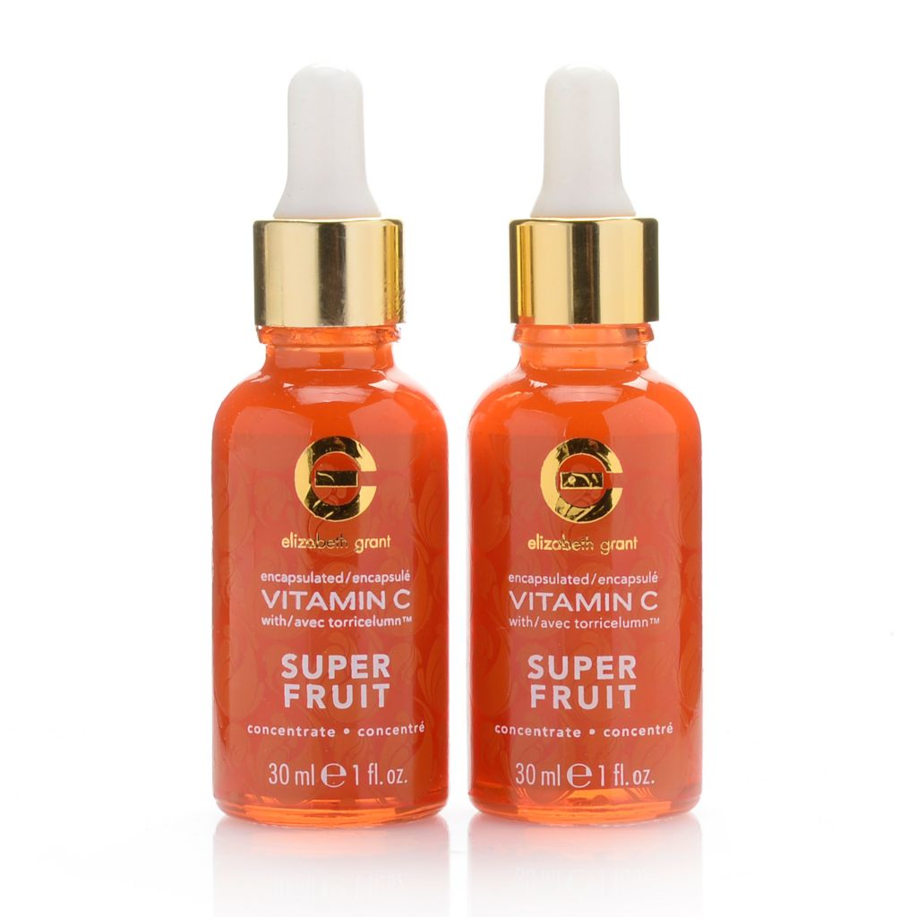 308-097 - Elizabeth Grant Vitamin C Super Fruit Hydra-Moist Concentrate Duo