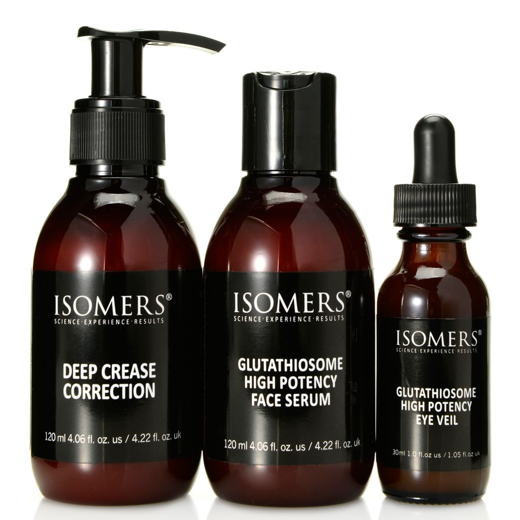308-104 - ISOMERS® Three-Piece Glutathiosome & Deep Crease Correction Skincare Set