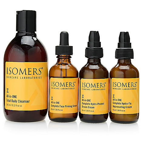 308-109 - ISOMERS Skincare Four-Piece All-in-ONE Series Smoothing Skincare Essentials Set