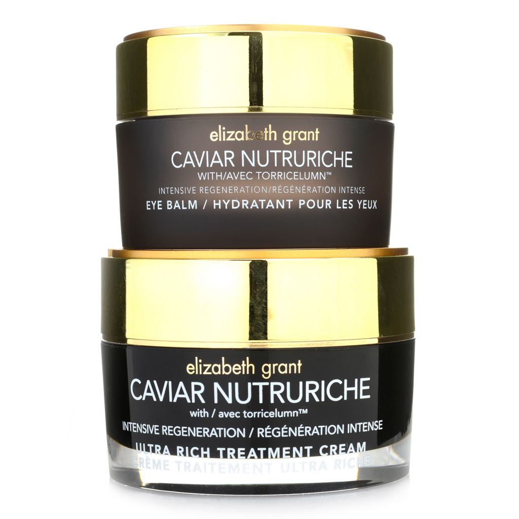 308-111 - Elizabeth Grant Caviar Nutruriche Treatment Cream & Eye Balm Moisturizing Duo