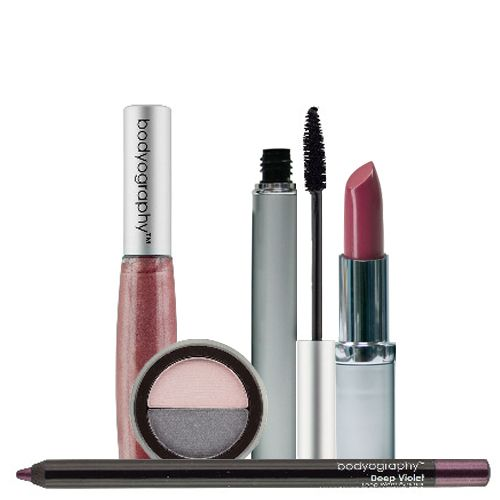 "308-174 - Bodyography Five-Piece ""Romance"" Makeup Collection for Eyes & Lips"