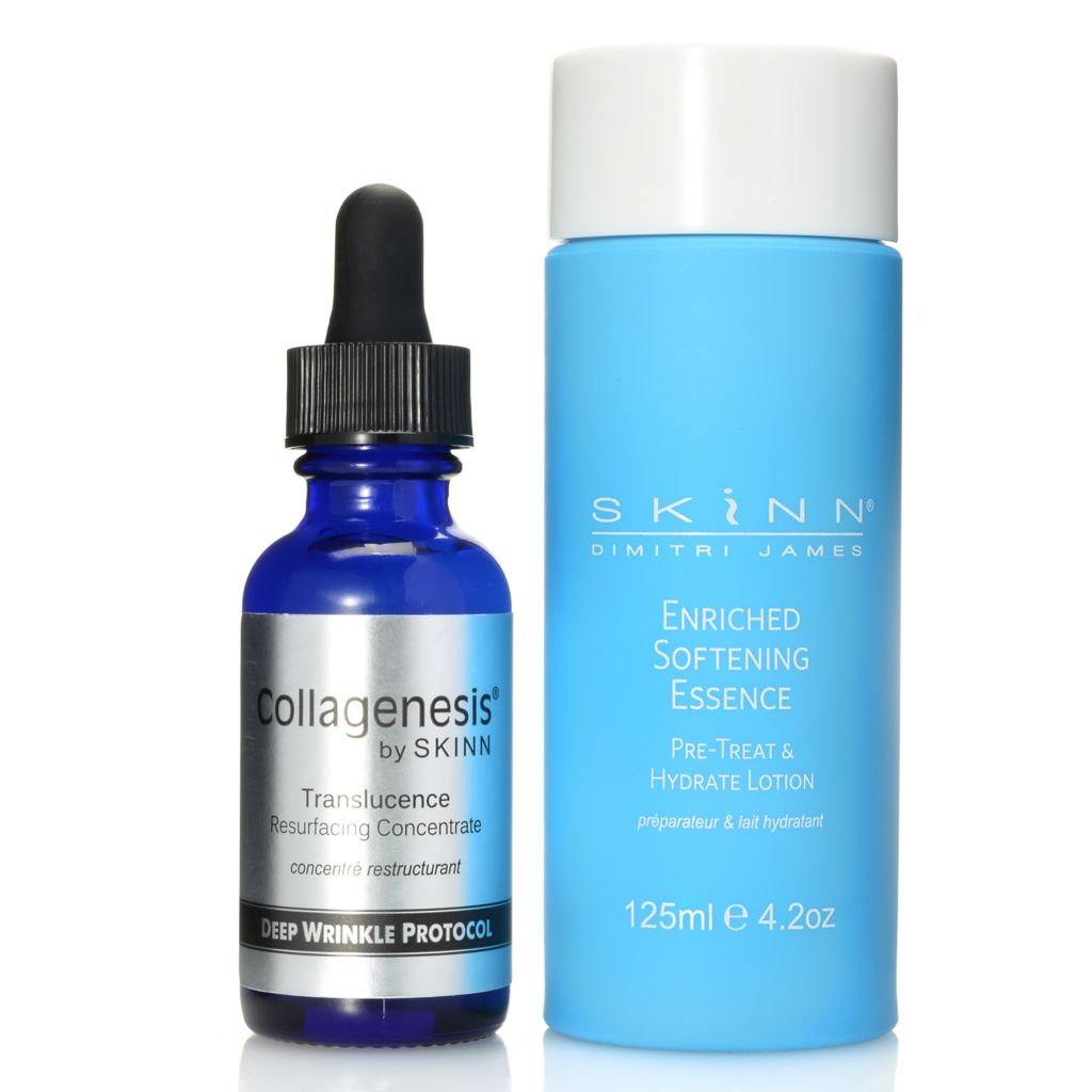 308-253 - Skinn Cosmetics Enriched Softening Essence & Resurfacing Concentrate Duo