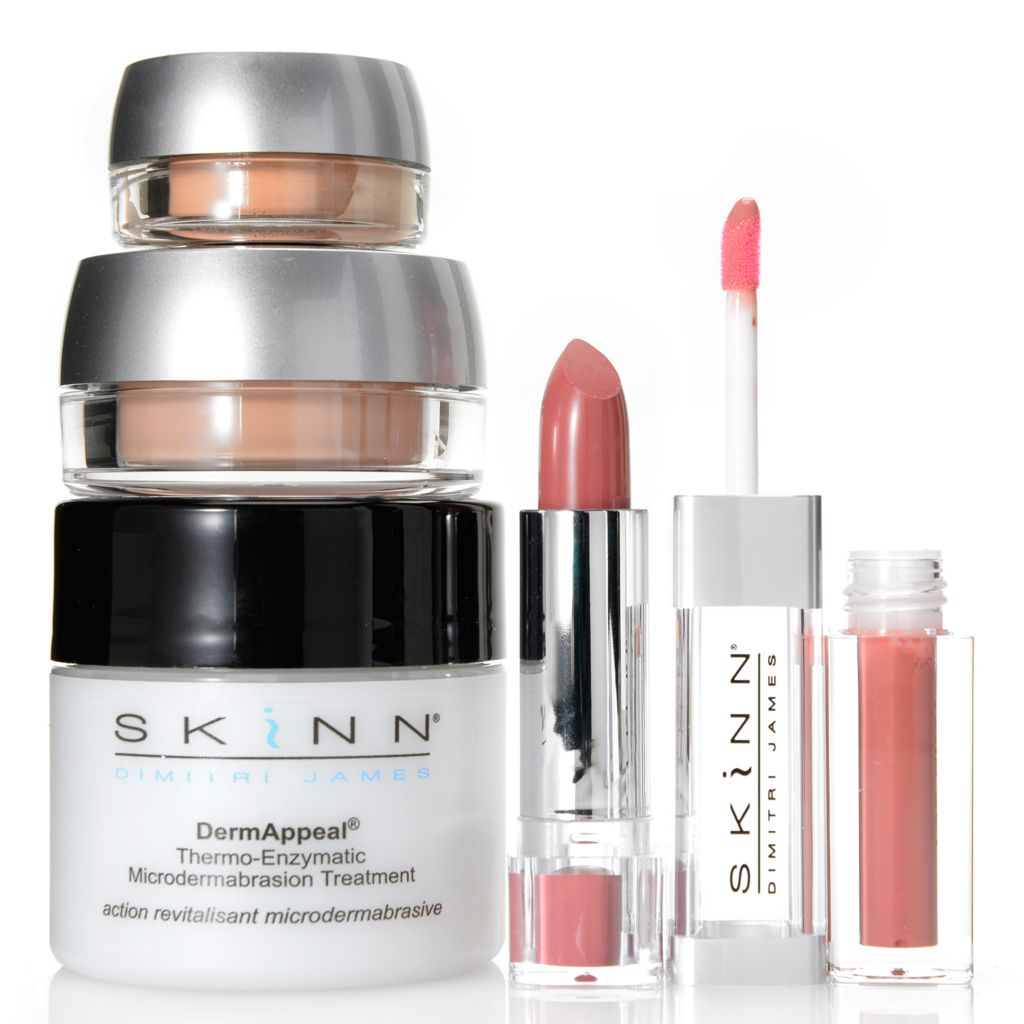 308-256 - Skinn Cosmetics Four-Piece Clean Complexion Skincare & Color Collection
