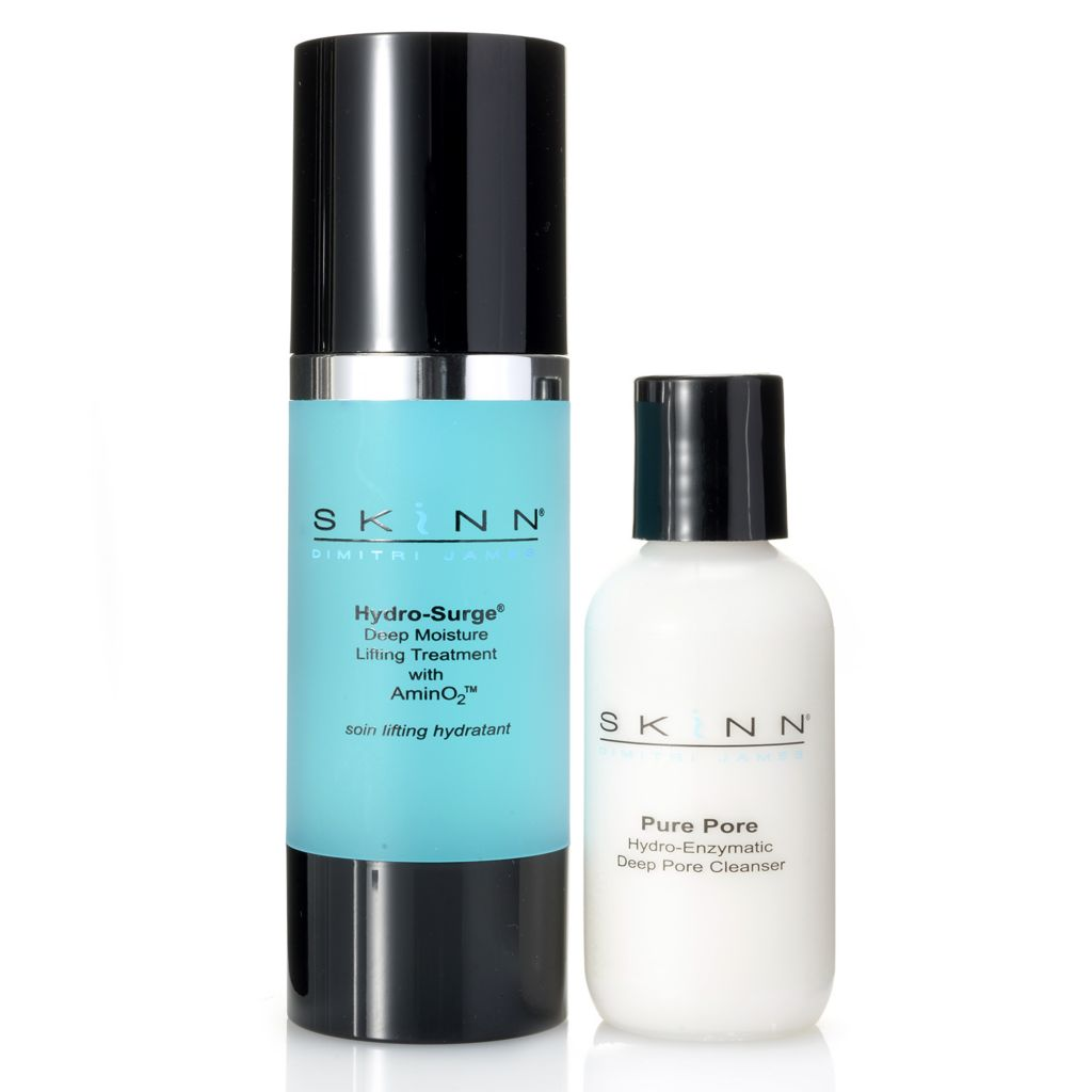308-259 - Skinn Cosmetics Pure Pore Cleanser & Hydro-Surge Treatment Duo