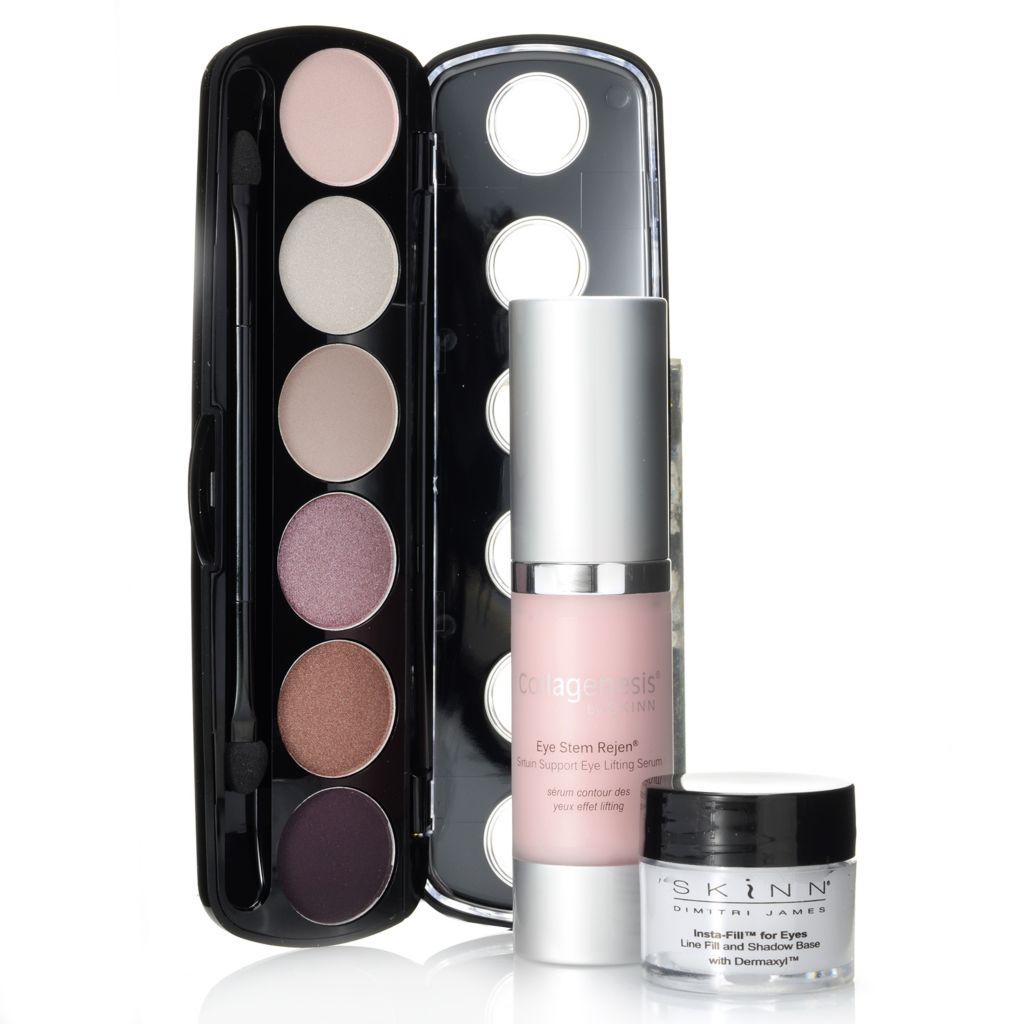 308-262 - Skinn Cosmetics Eye Stem Rejen, Insta-Fill for Eyes & Patina Eyeshadows Trio