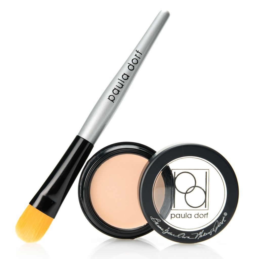 308-310 - Paula Dorf Cosmetics Eye Primer w/ Application Brush