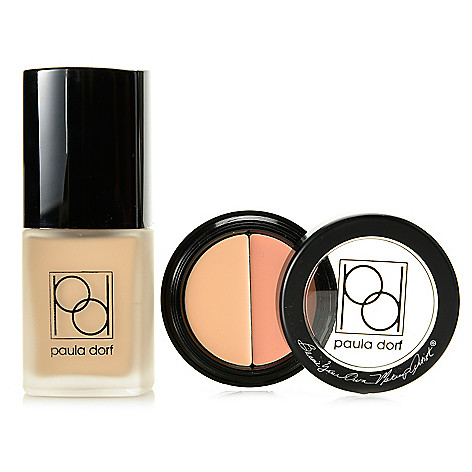 308-311 - Paula Dorf Cosmetics Two-Piece Foundation & Concealer Discovery Set