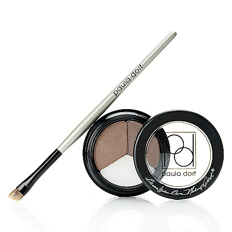 308-312 - Paula Dorf Cosmetics 2+1 for Brows w/ Angled Application Brush