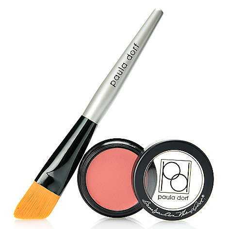 308-314 - Paula Dorf Cosmetics Cheek Color Cream w/ Application Brush