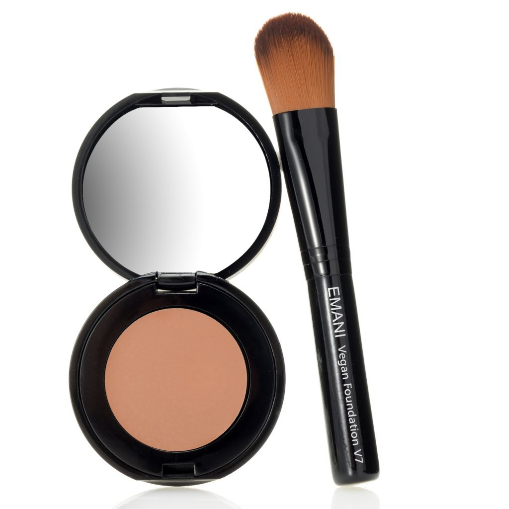 308-358 - EMANI Cosmetics HD Corrective Concealer w/ Application Brush 0.14 oz
