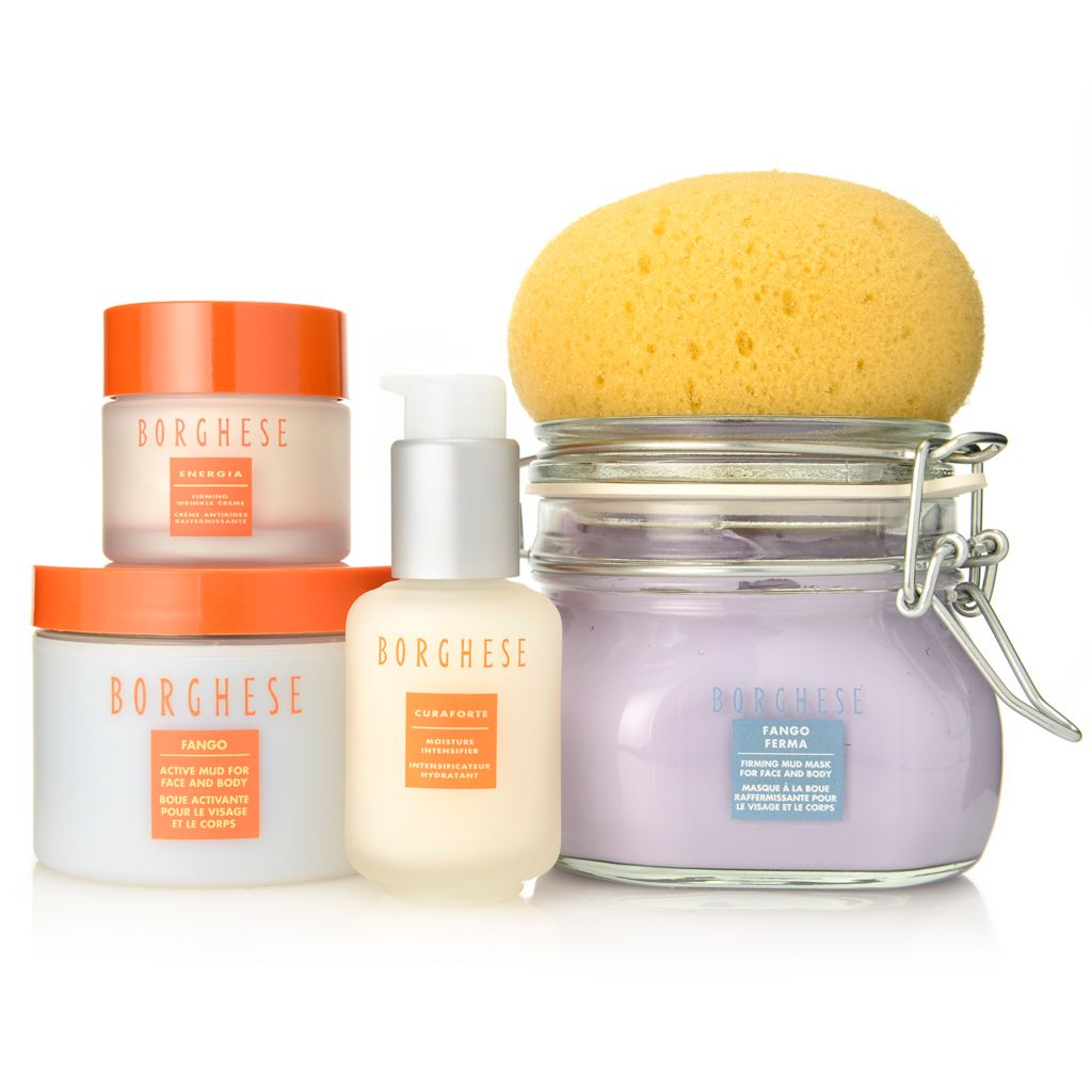 "308-373 - Borghese Four-Piece ""Turn Back Time"" Firming & Moisturizing Skincare Set"