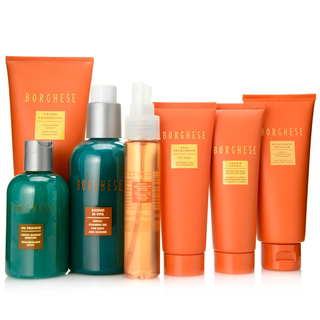 "308-377 - Borghese Seven-Piece ""Spa Di Borghese"" Revitalize & Refresh Skincare Collection"