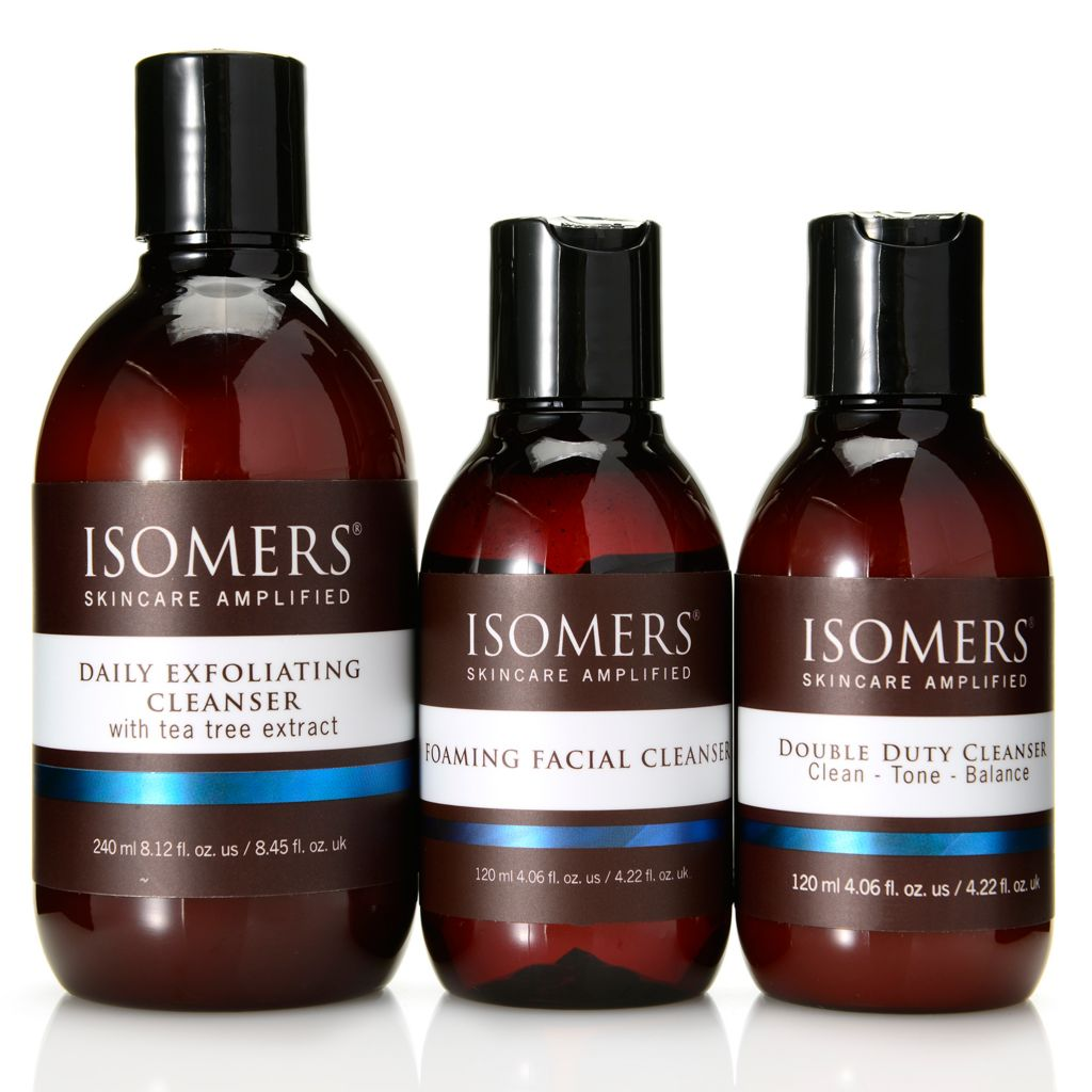 308-400 - ISOMERS® Three-Piece Universal Cleansing Collection