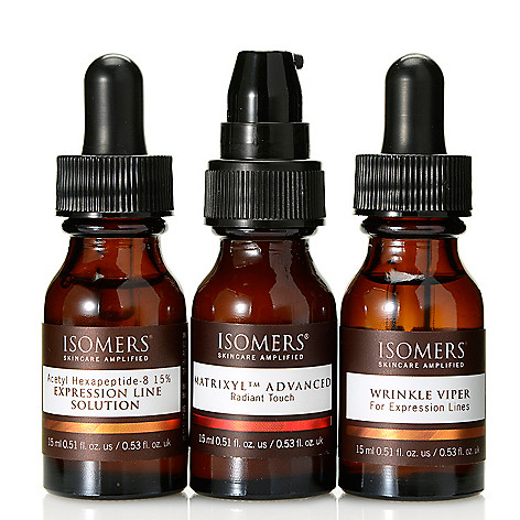 308-401 - ISOMERS® ''No More Wrinkles'' Smooth & Conceal Eye Care Trio 0.51 oz Each