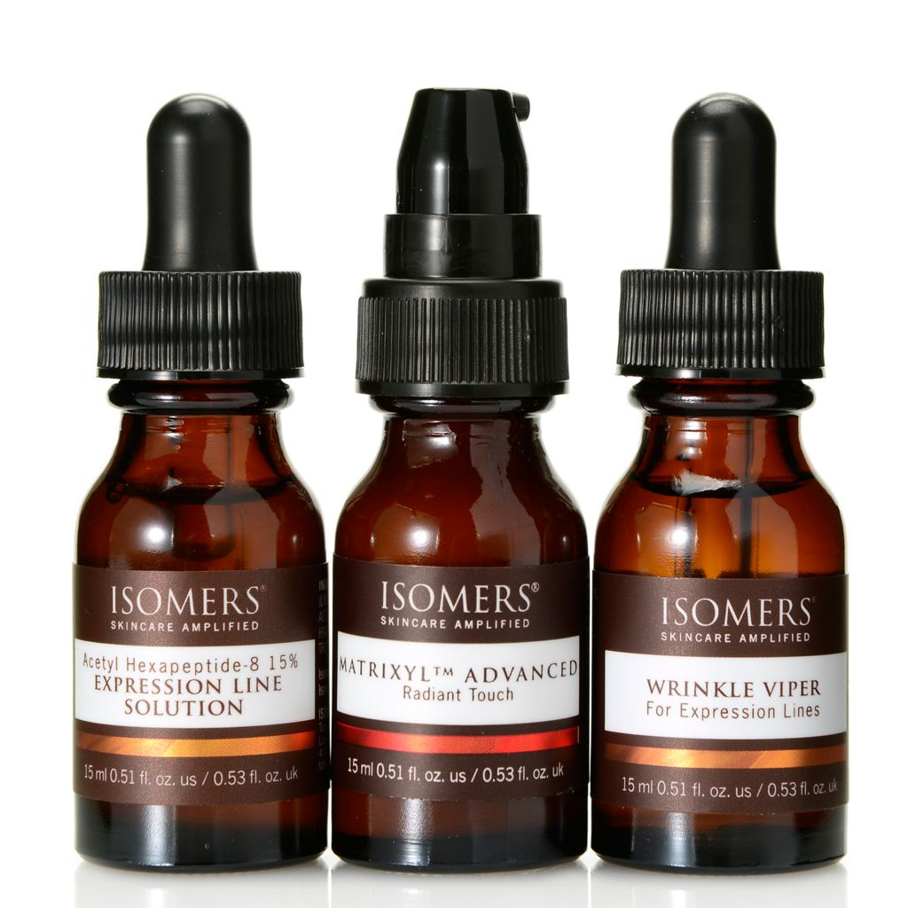 "308-401 - ISOMERS® ""No More Wrinkles"" Smooth & Conceal Eye Care Trio 0.51 oz Each"