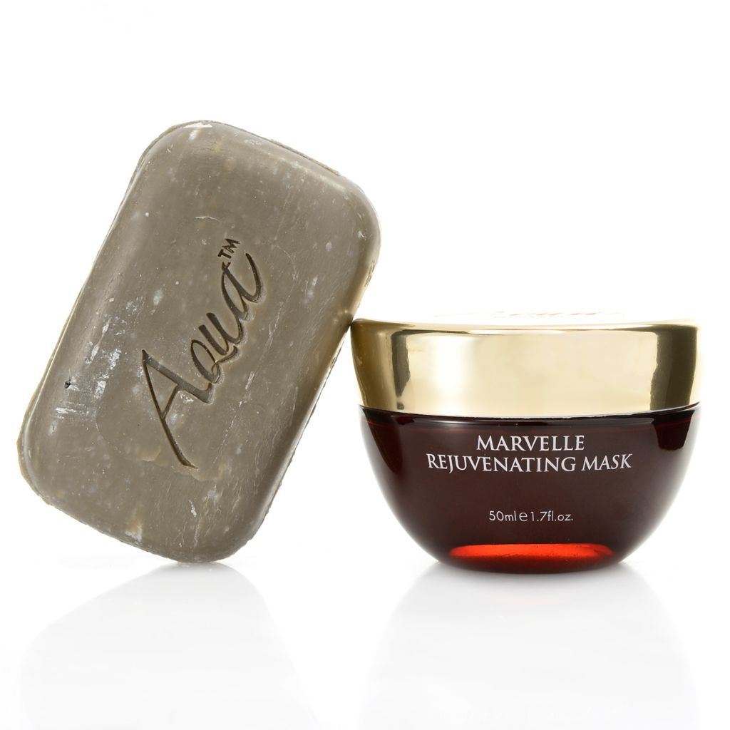 308-406 - Aqua Mineral™ Marvelle Rejuvenating Facial Mask & Mud Soap Duo