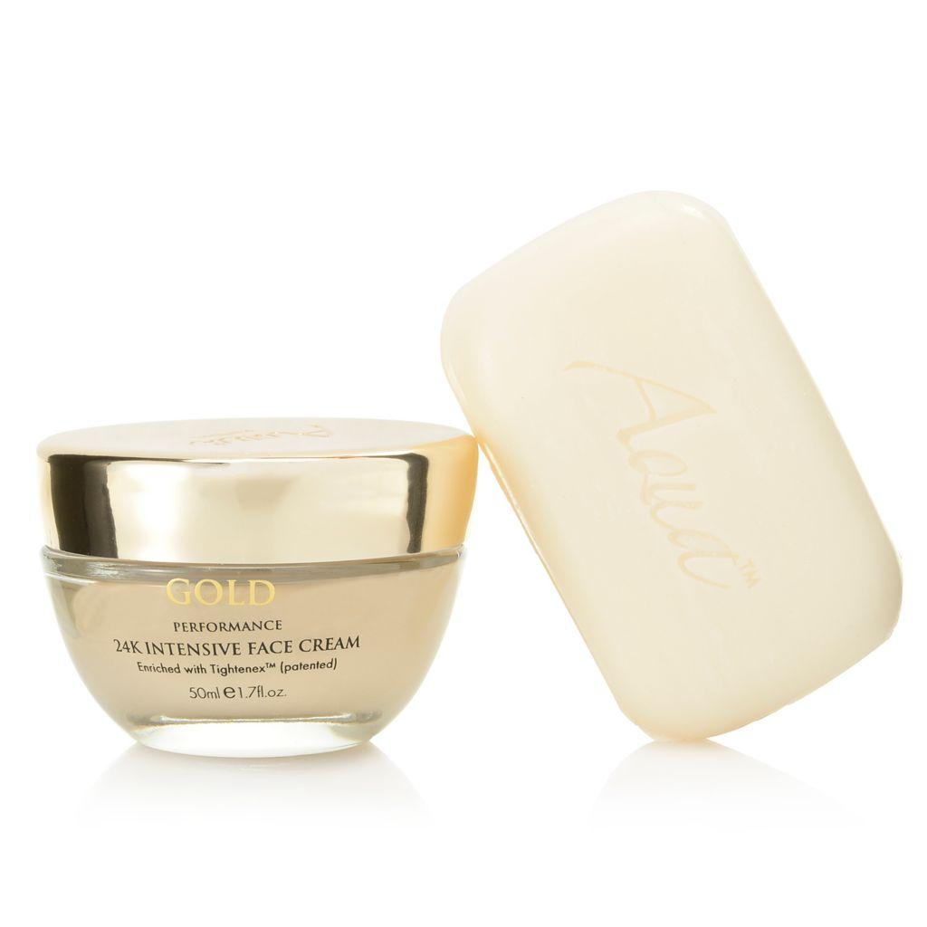 308-409 - Aqua Mineral™ Soap & 24K Intensive Face Cream Skin Care Kit