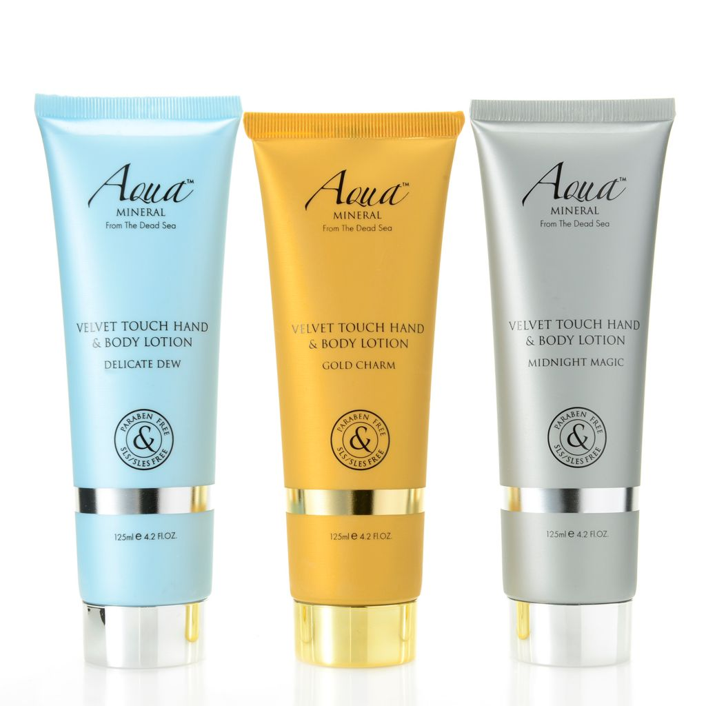 308-412 - Aqua Mineral™ Velvet Touch Set of Three Hand & Body Lotions