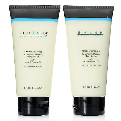 308-420 - Skinn Cosmetics Creme Extreme Body Lotion Duo 6.5 oz Each