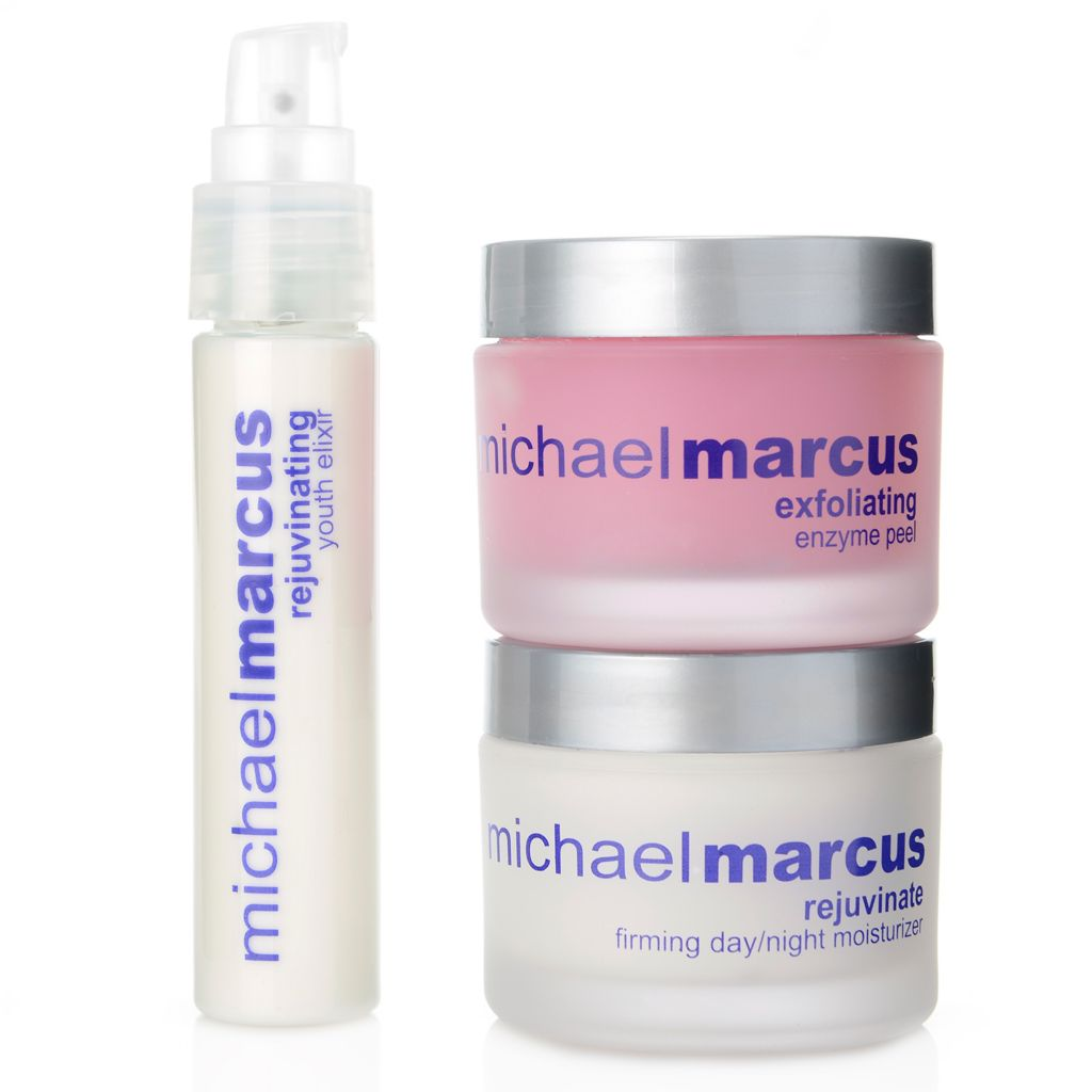 308-442 - Michael Marcus Three-Piece Rejuvenating Skincare System