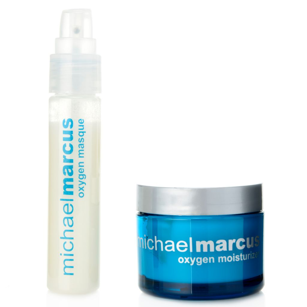 308-443 - Michael Marcus Refreshing & Invigorating Oxygen Masque & Moisturizer Duo