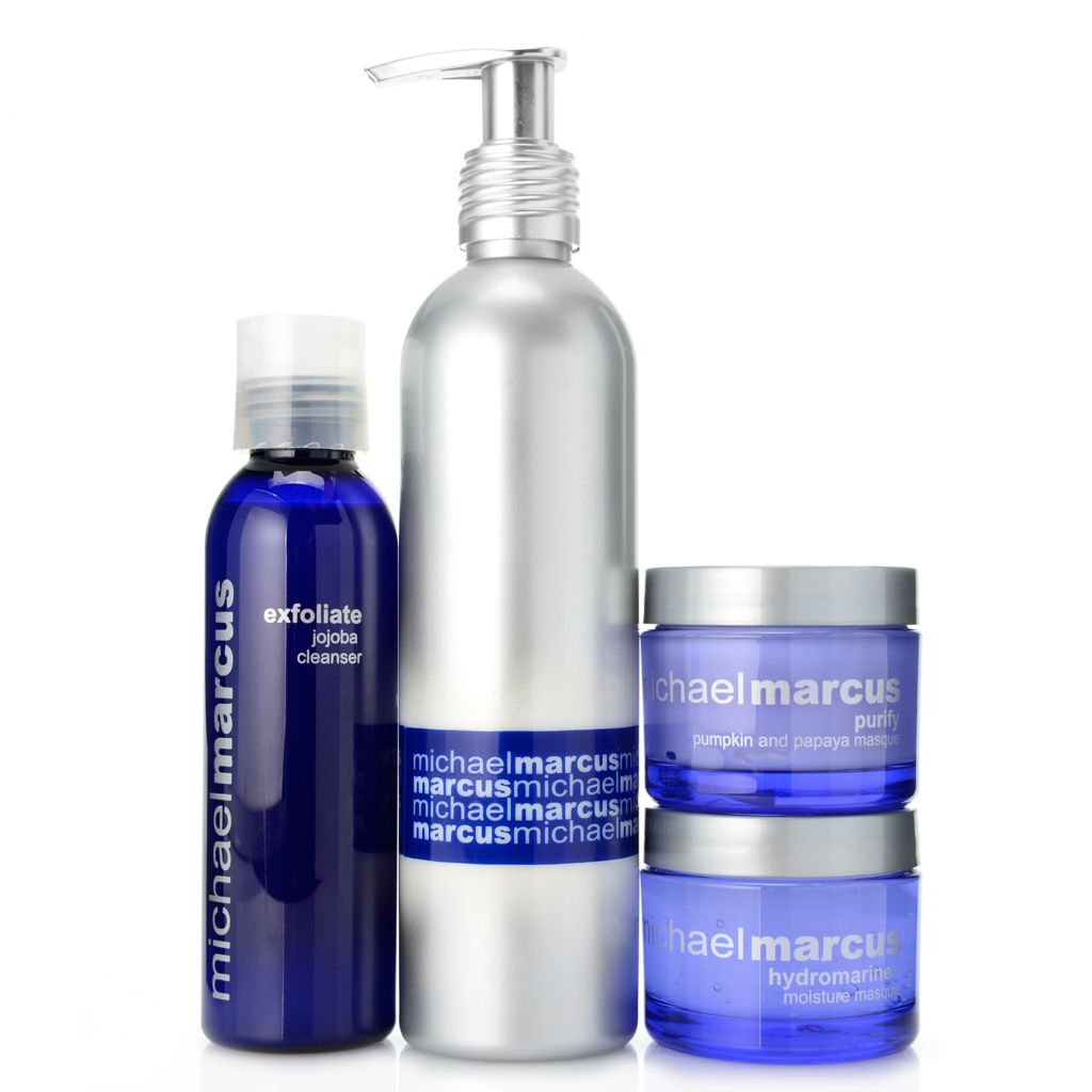 "308-446 - Michael Marcus Four-Piece ""Clean Slate"" Skincare Collection"