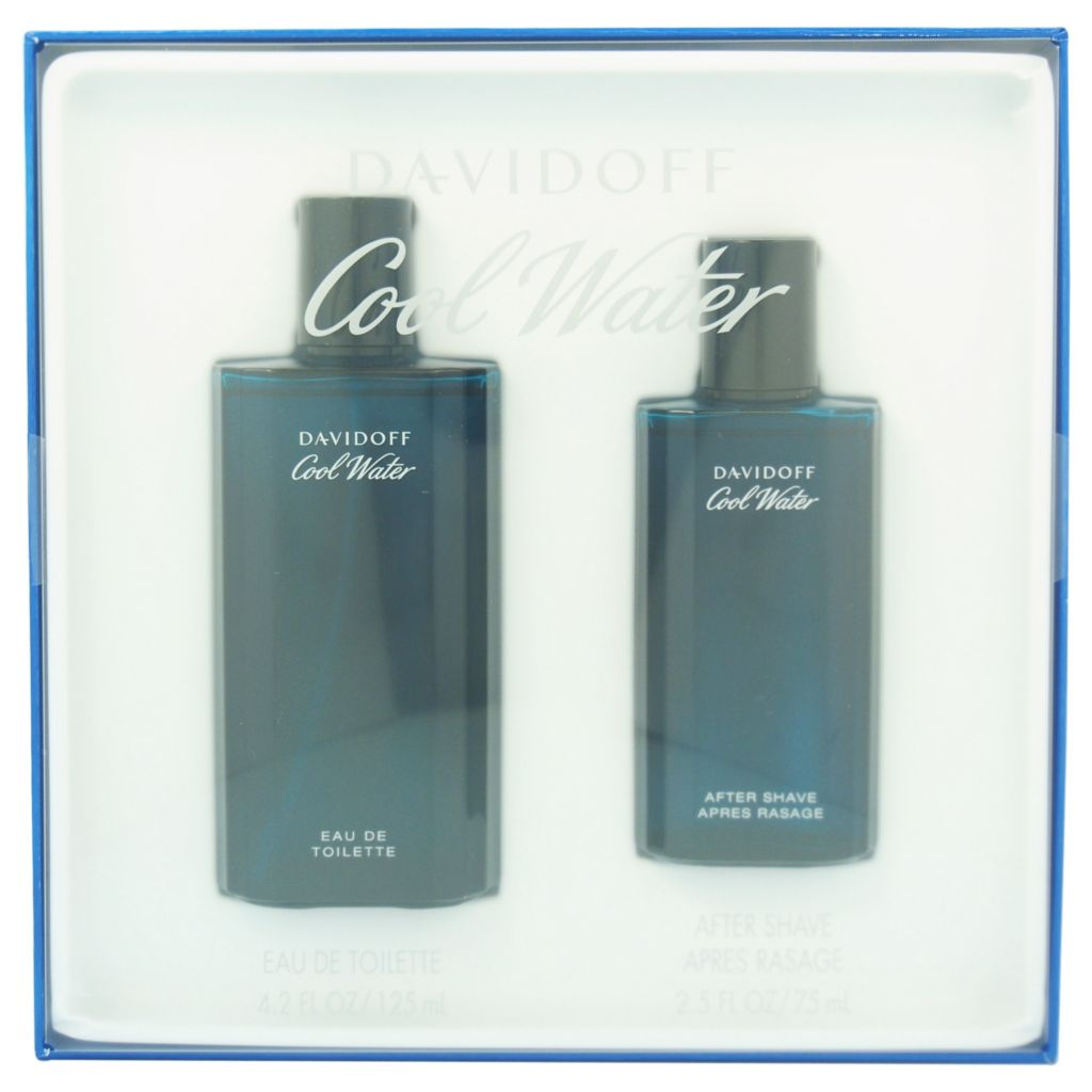 308-486 - Zino Davidoff Cool Water Two-Piece Eau de Toilette Spray & After Shave Splash Set