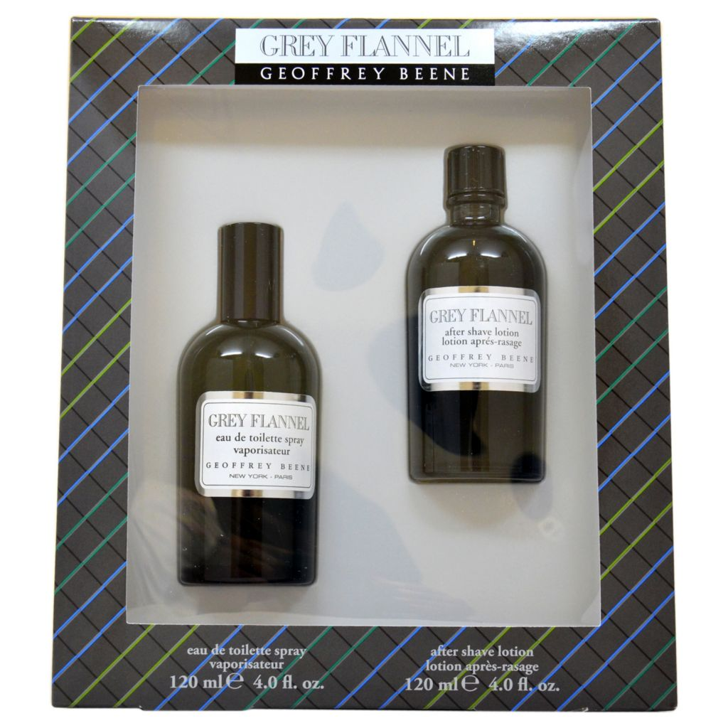 308-490 - Geoffrey Beene Grey Flannel Two-Piece Eau de Toilette Spray & After Shave Lotion Set