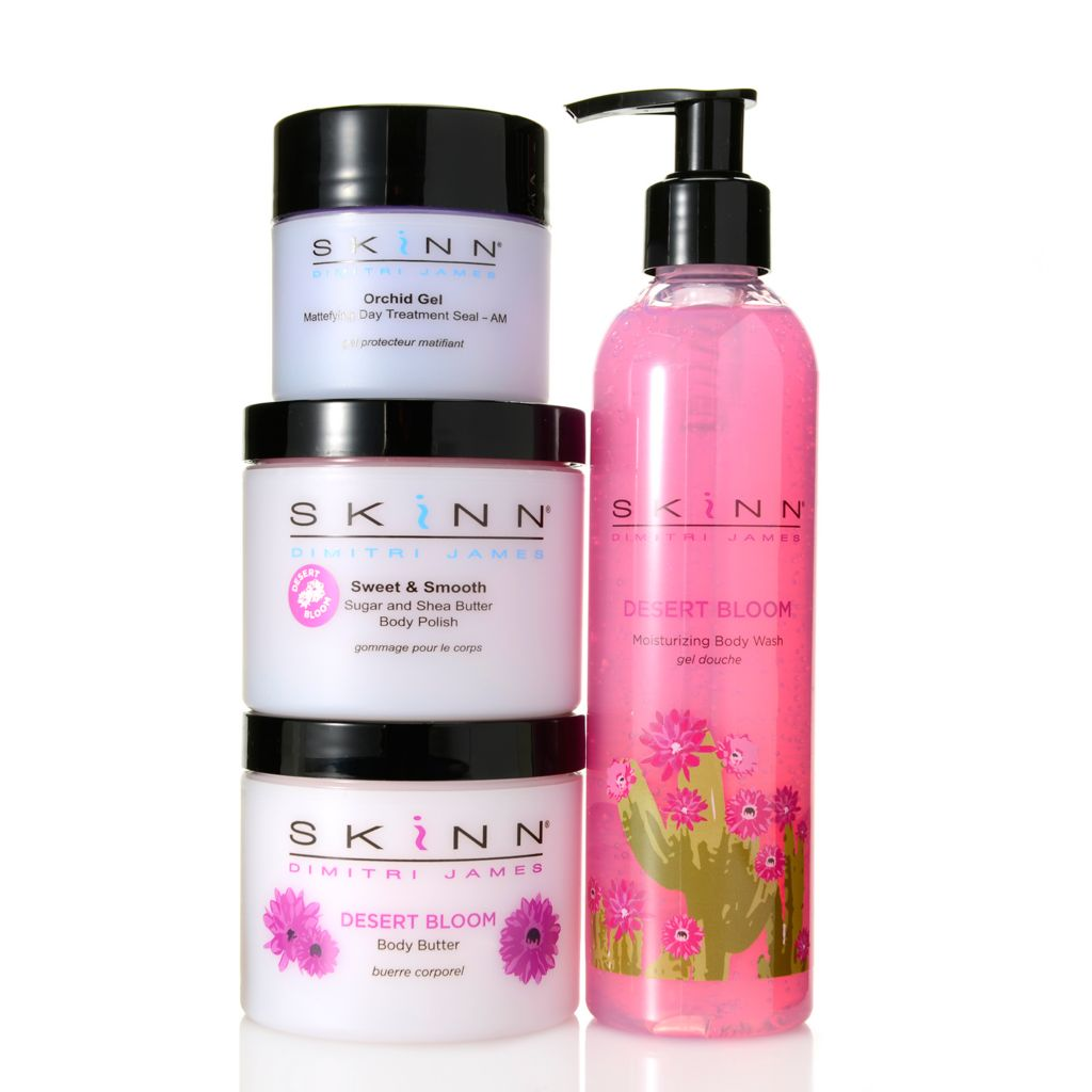 308-527 - Skinn Cosmetics Four-Piece Hydrate & Smooth Skincare Collection