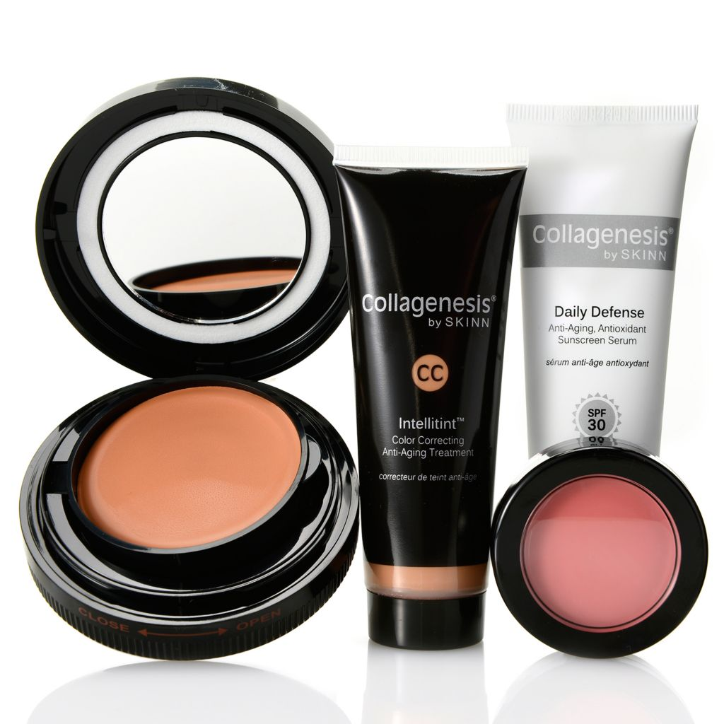"308-528 - Skinn Cosmetics Four-Piece ""Bronzed & Flawless"" Skincare & Color Collection"