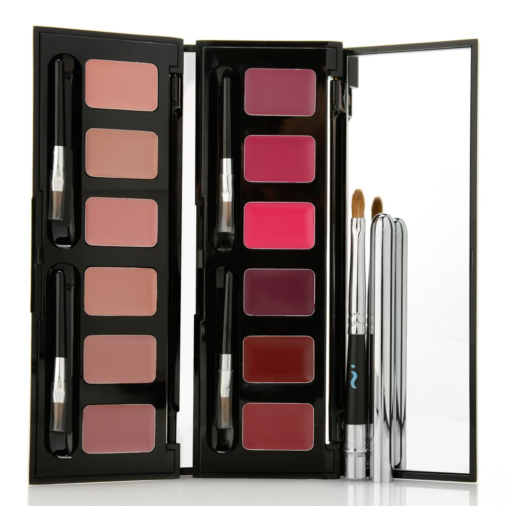 308-544 - Skinn Cosmetics Hollywood Lip Palette Duo w/ Bonus Lip Brush