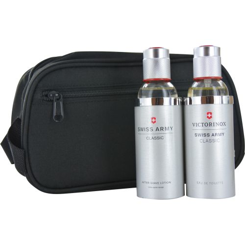 308-553 - Swiss Army Eau de Toilette Spray & Aftershave w/ Toiletry Bag Set  3.4 oz Each