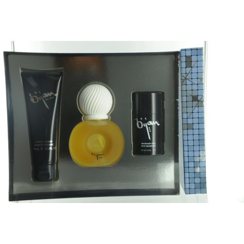 308-560 - Bijan Eau de Toilette Spray, Aftershave Balm & Deodorant Stick Set
