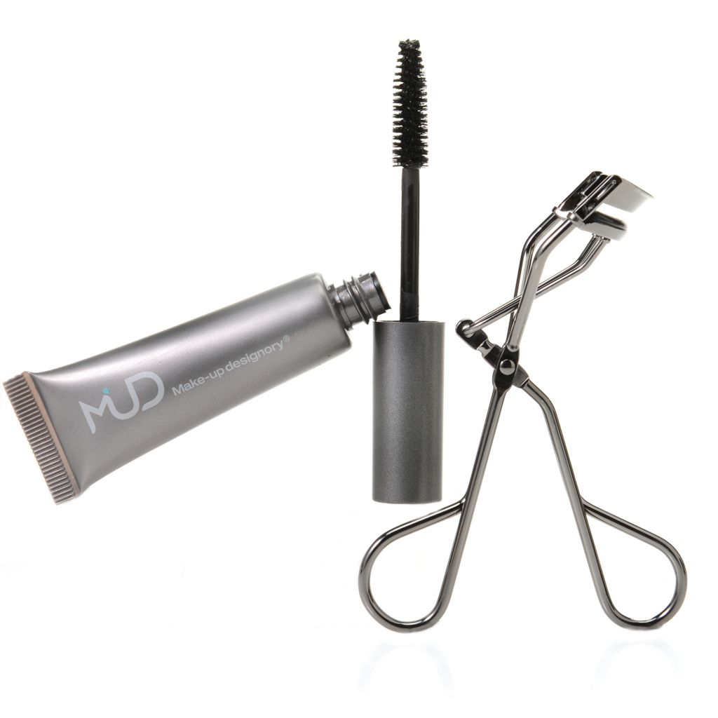 308-599 - MUD Volumizing Mascara w/ Eyelash Curler