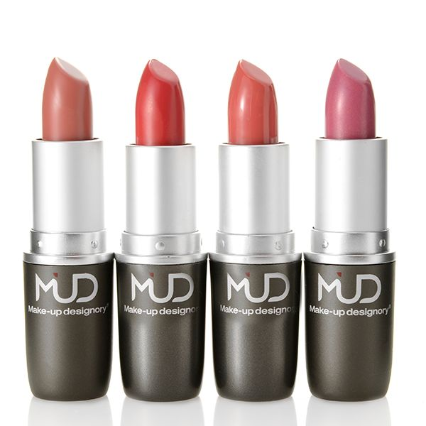 308-601 - MUD Four-Piece Sheer Lipstick Cosmetic Collection