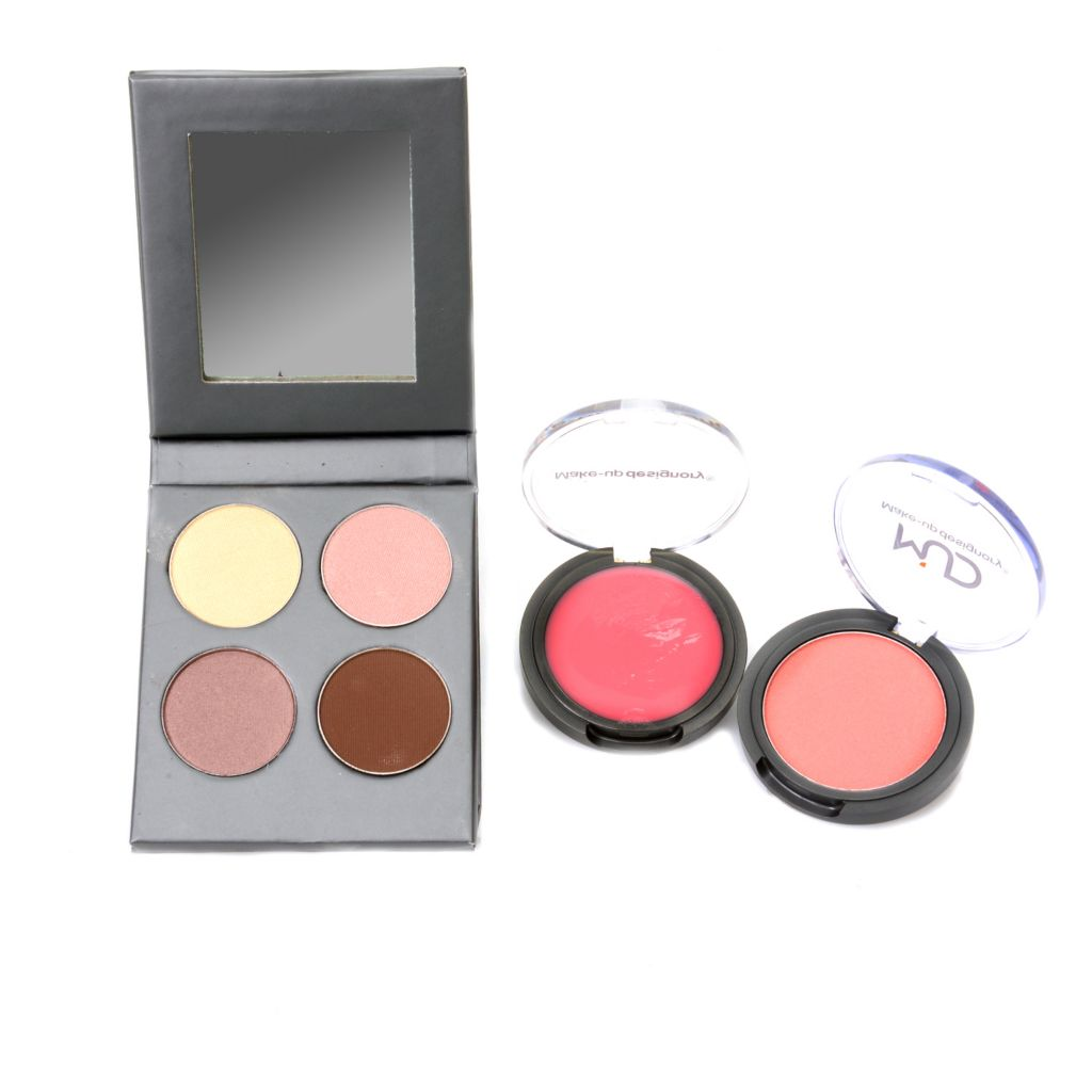 "308-602 - MUD Five-Piece ""Picture Perfect"" Eye Palette w/ Lip Gloss & Cheek Color"